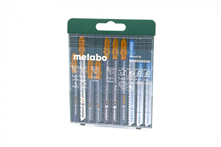 Metabo 10 Delige Decoupeerzaagbladenset
