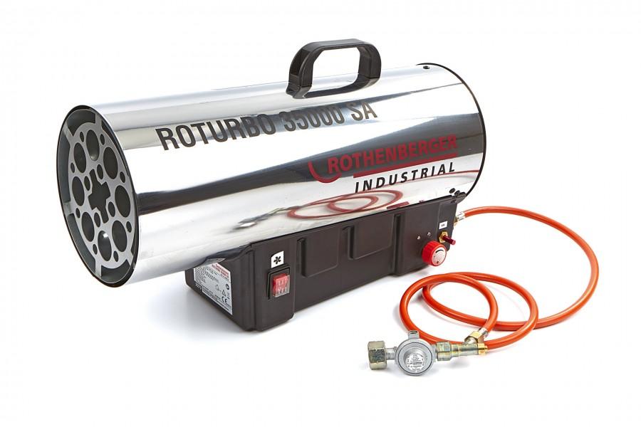 Rothenberger Heteluchtkanon, Heater ROTURBO 35000SA