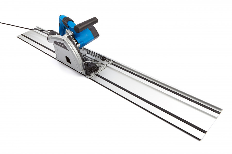 Silverline 1200 Watt Invalzaag 160 mm met 2 x 700 mm Liniaal
