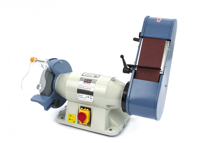 HBM 200 mm Slijpmachine en Bandschuurmachine
