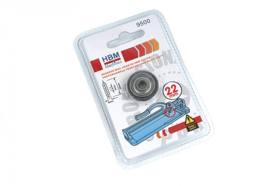 HBM Reserve Wiel Voor De HBM 800 mm Professionele Tegelsnijder Heavy Duty