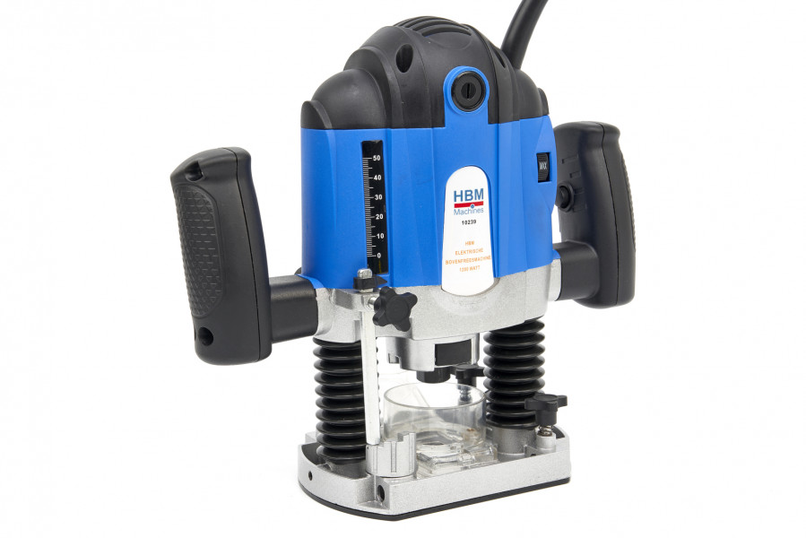 HBM Profi Elektrische Bovenfreesmachine 1200 Watt