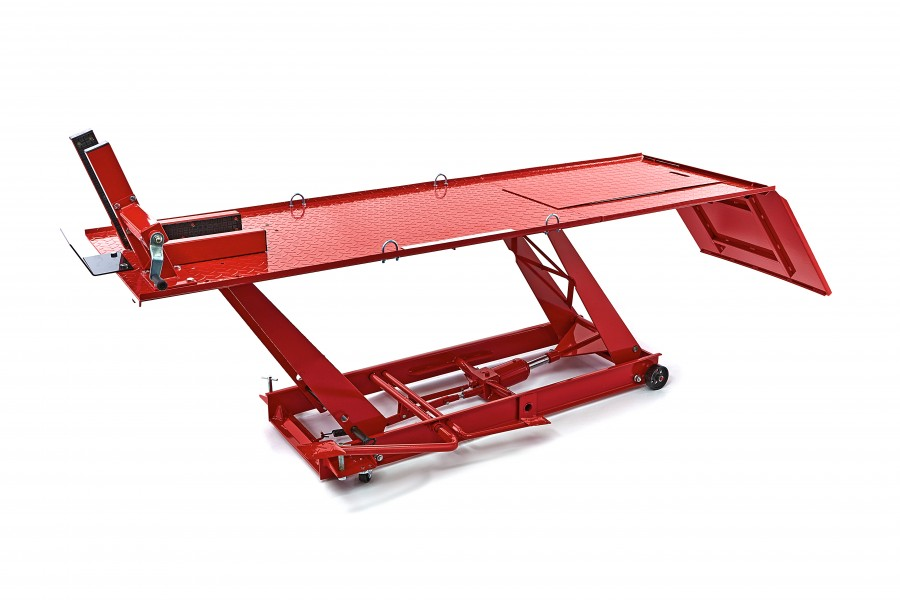 HBM 300 Motorheftafel Hydraulisch Met Luxe voorwielklem