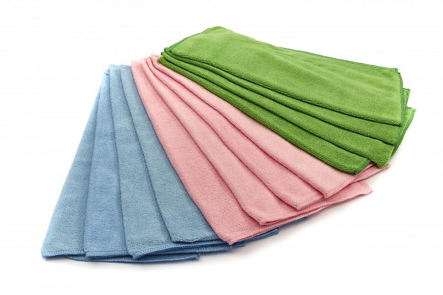 HBM 12 Delige set Poets Handdoeken