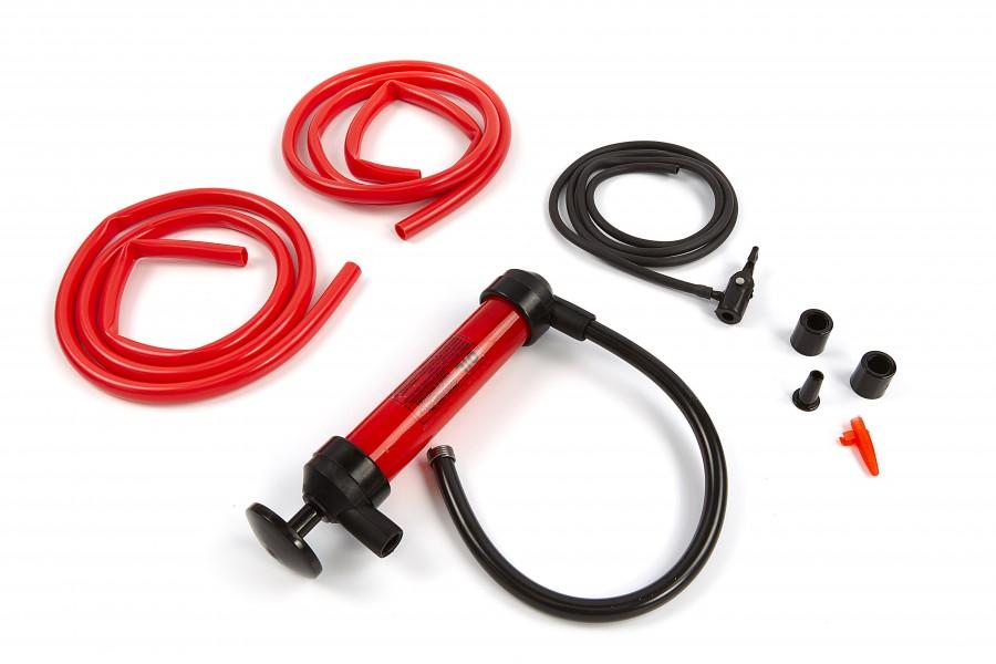 HBM Sifon pomp / Vacuumpomp / Hevelpomp set met slangen en koppelingen
