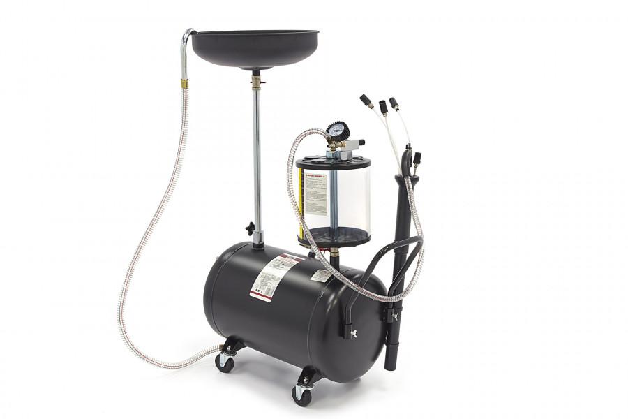 HBM 70 Liter Olie opvangsysteem / Olie Afzuiger, Olie Remover Extra Laag