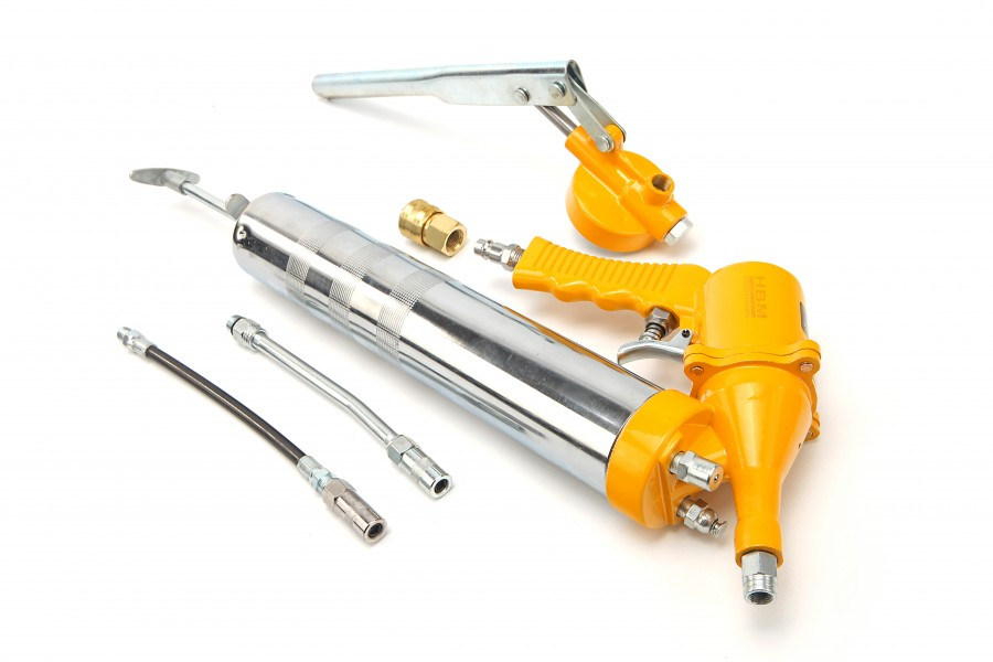 HBM 5 Delige Pneumatische en Handmatige Vetspuit