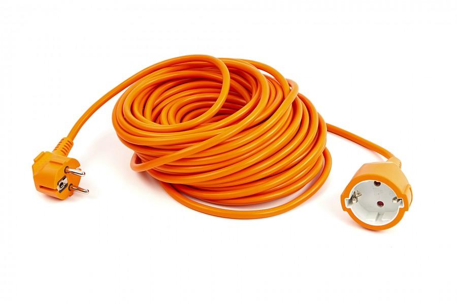 Relectric 20 Meter Verlengsnoer Oranje 3 x 1,0 mm