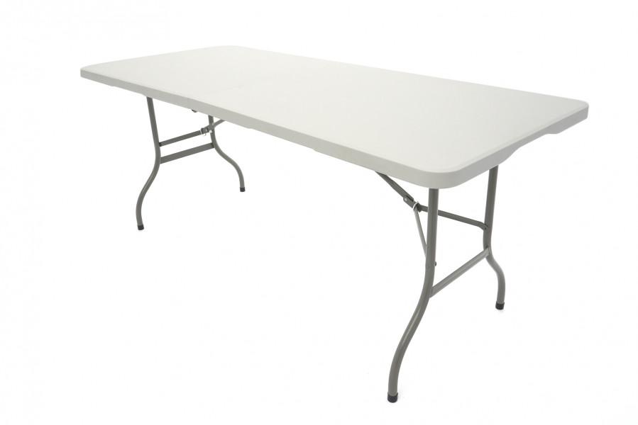 Erro Opvouwbare PVC-Tafel - 180 cm - Wit