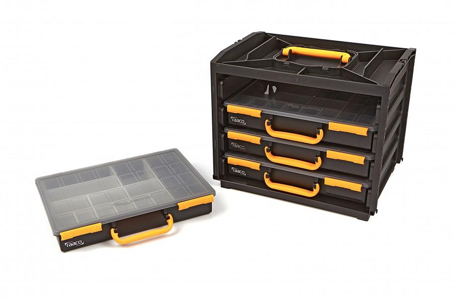 Raaco 5 Delige Assortimentskoffer - 376 x 265 x 310 mm