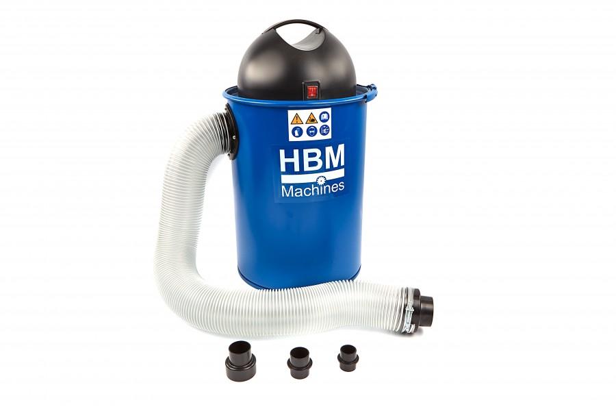 HBM 1100 Watt Draagbare Stofafzuiginstallatie