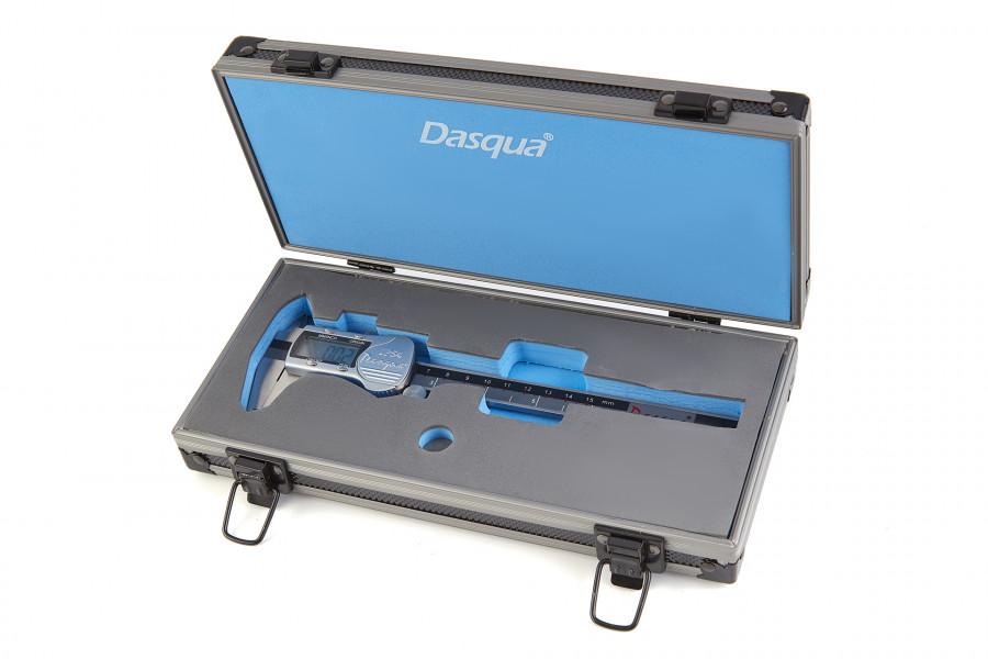 Dasqua IP 54 Professionele 150 mm Digitale Schuifmaat met Groot Scherm en Metalen behuizing