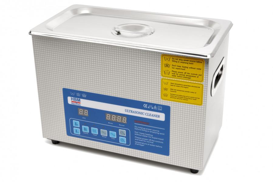 HBM 4 Liter Professionele Deluxe Ultrasoon Reiniger