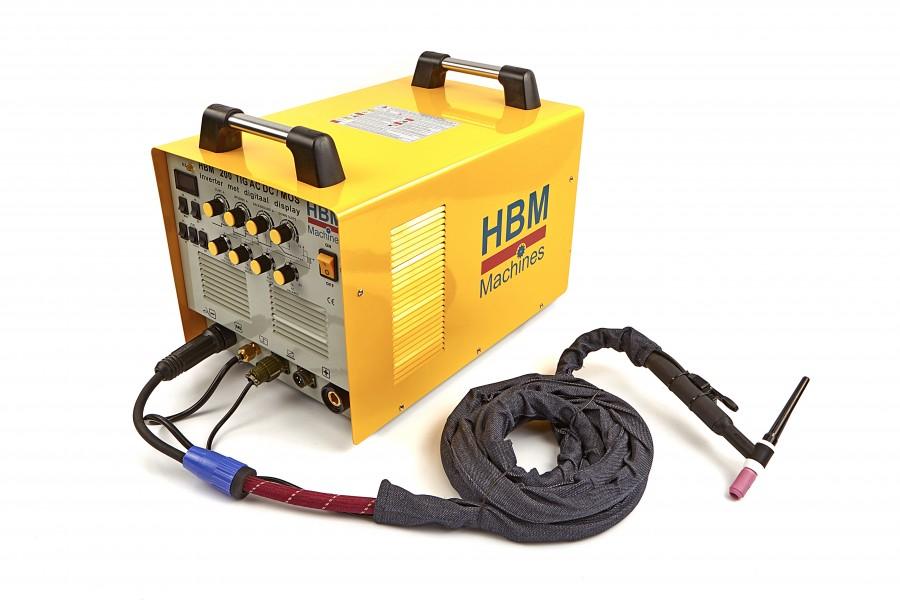 HBM TIG 200 AC/DC Inverter