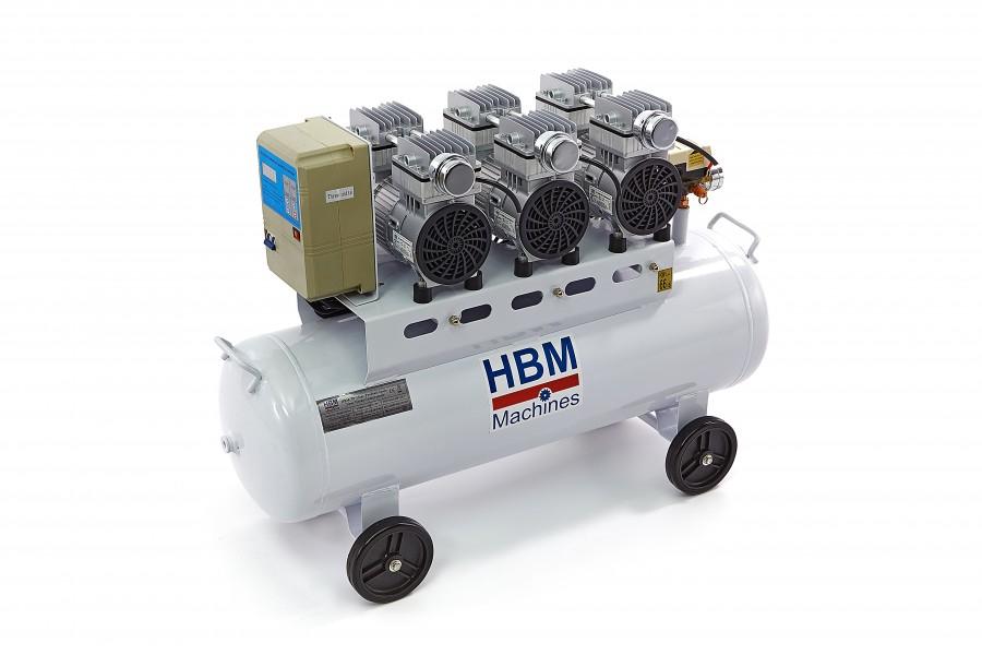 HBM 70 Liter Professionele Low Noise Compressor