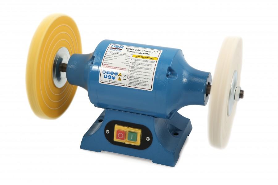 HBM 200 mm Hobby Polijstmachine