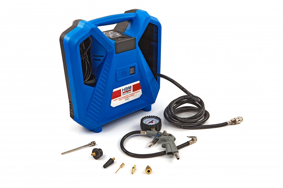 HBM Draagbare Compressor met toebehoren