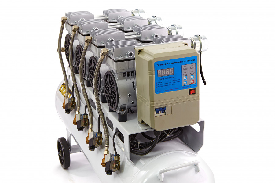 HBM 120 Liter Professionele Low Noise Compressor