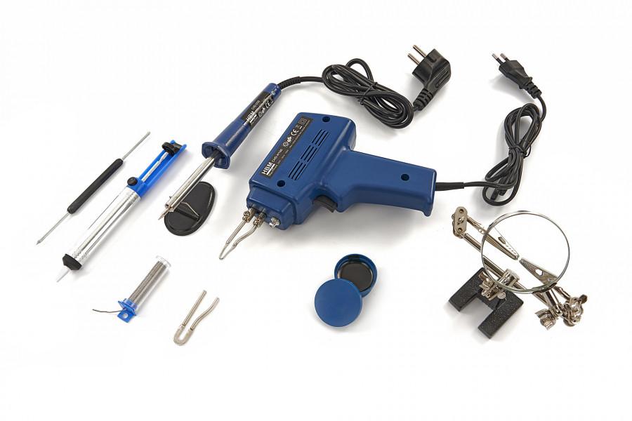 HBM 9 Delige Elektrische Soldeer Set