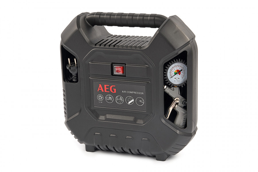 AEG Pit Stop 1500 Watt Olieloze Compressor Set