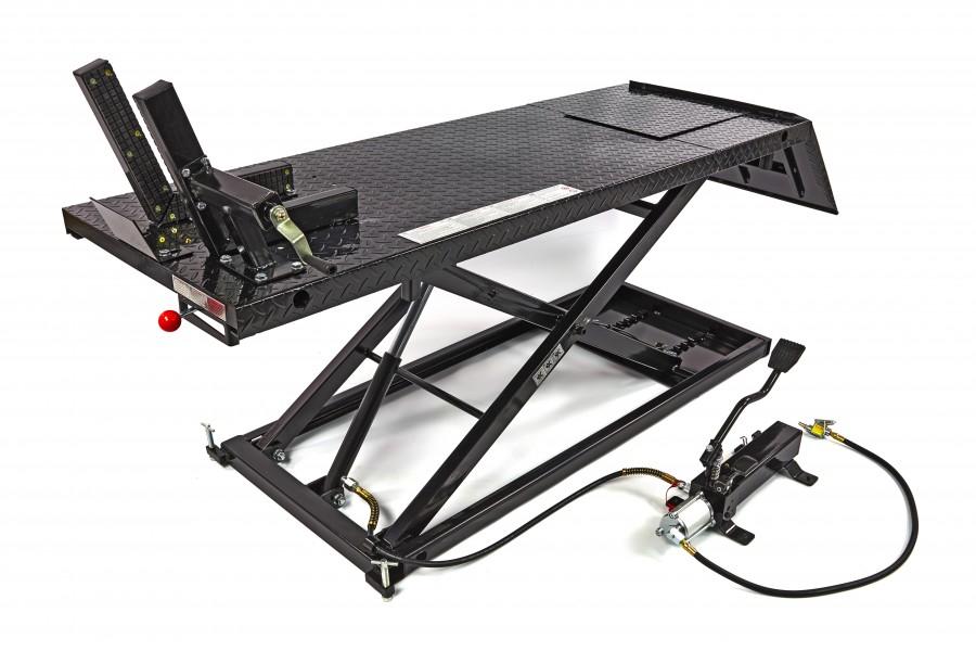 HBM 500 Motorheftafel - ZWART