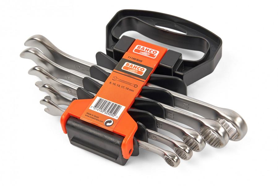 Bahco 5 Delige Ringsteeksleutelset met Houder 5 Delig 111M/SH5