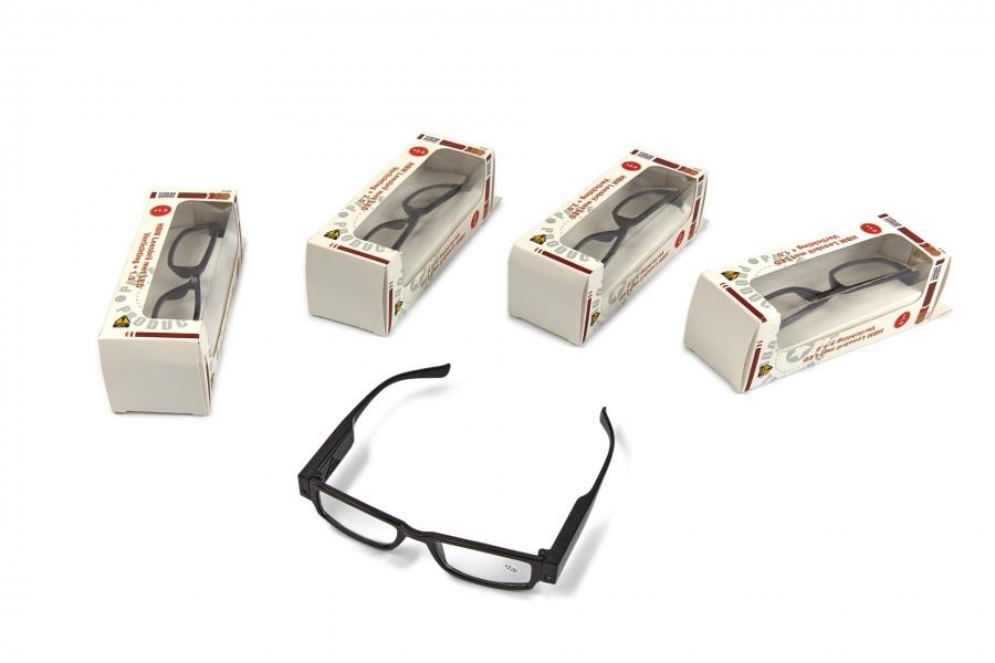 HBM Leesbril met LED Verlichting