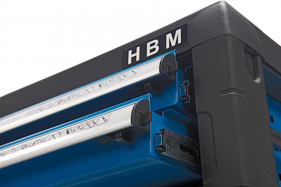 HBM 4 Laden Gereedschap Opzetkast - Blauw