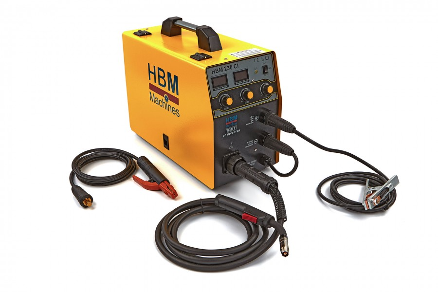 HBM 230 CI MIG Inverter met Digitaal Display en IGBT Technologie