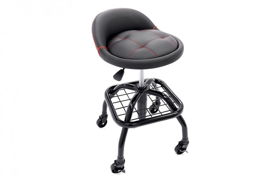 HBM Professionele Werkplaatsstoel, Werkstoel Met Gasveer – Model 3
