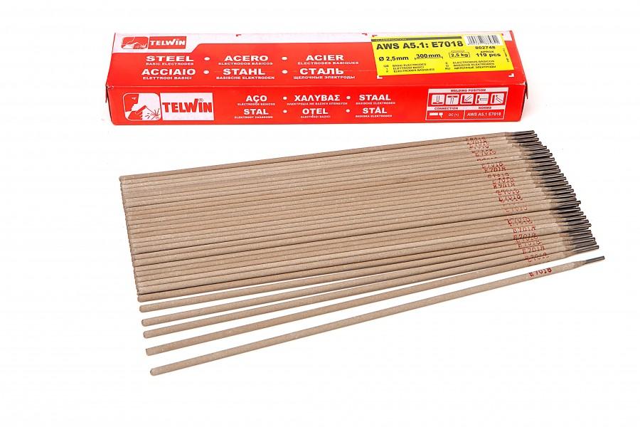 ACTIE !! Telwin Basis Laselektroden E 7018 Voordeelverpakkingen