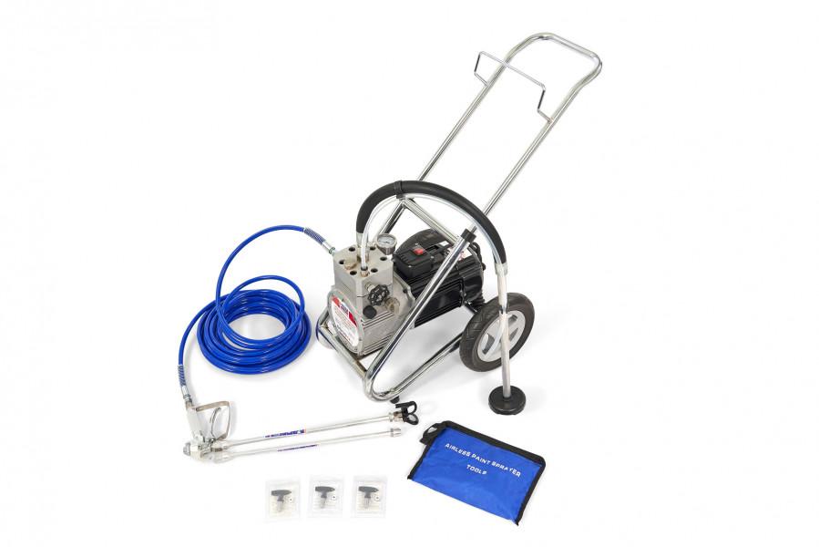 HBM Hogedruk Airless Spuitmachine Verfspuit Wandspuitmachine Set 1500 Watt