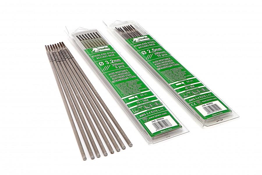 Telwin Rutiel Laselektroden voor RVS Ø 2,5 x 300 mm 10 Stuks