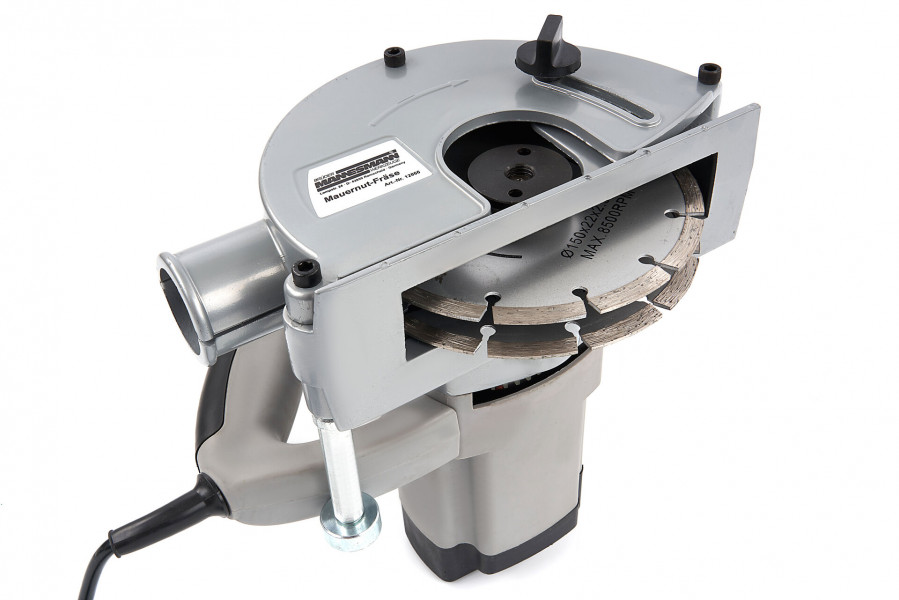 Mannesmann Elektrische Muurfrees / Sleuvenfrees met 2 Diamantschijven 1600 Watt