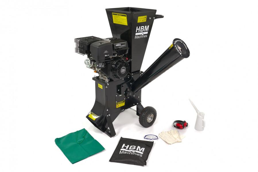 HBM 4 Takt 15 PK -  420 cc  Benzine Hakselaar - Houtversnipperaar