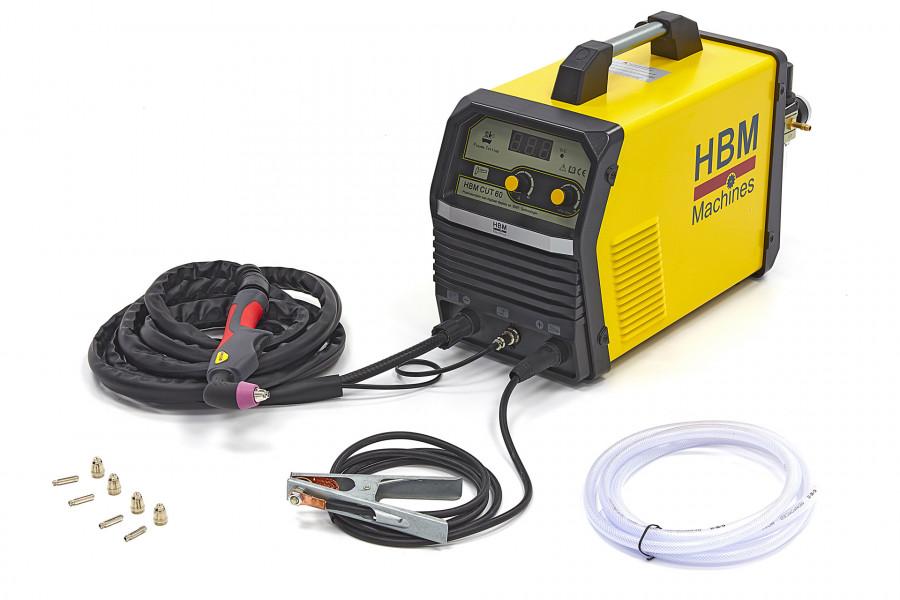 HBM CUT 60 Plasmasnijder met Digitaal Display en IGBT Technologie
