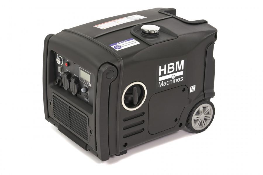 HBM HY3200i Generator / Inverter met 3200W Benzinemotor