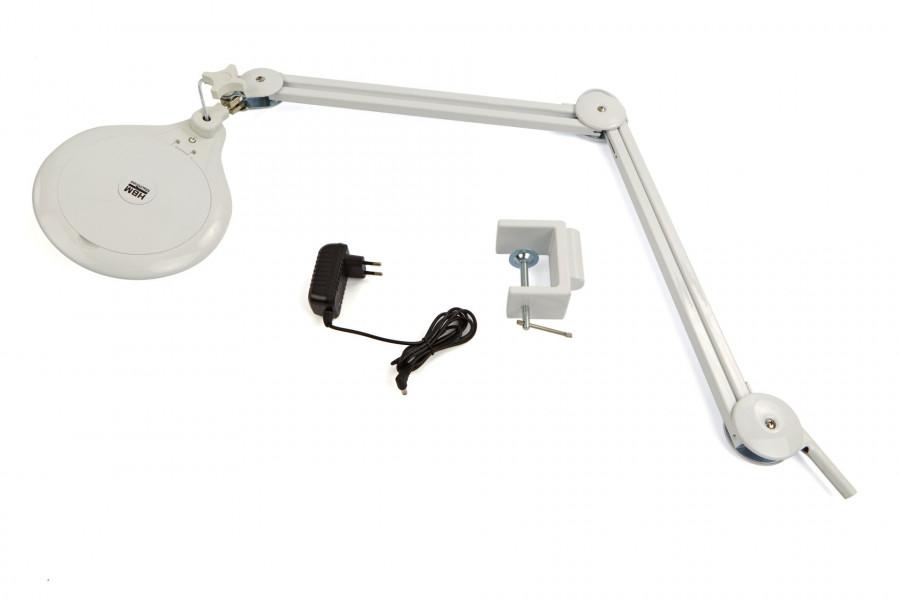 HBM LED Verstelbare Loupelamp Met Dimmer en Tafelklem – 3800LUX