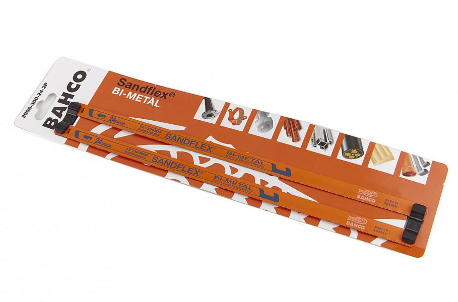 Bahco 3906-300-24-2P Sandflex Handmetaalzaagblad Bimetaal - 300mm - 24TPI (2st)