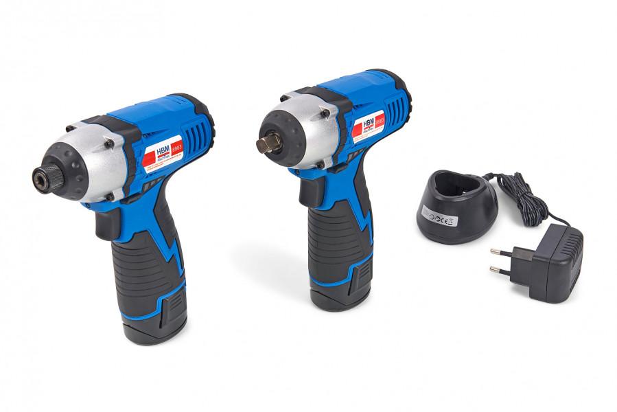 HBM 10,8 Accu slagmoersleutel en schroevendraaier