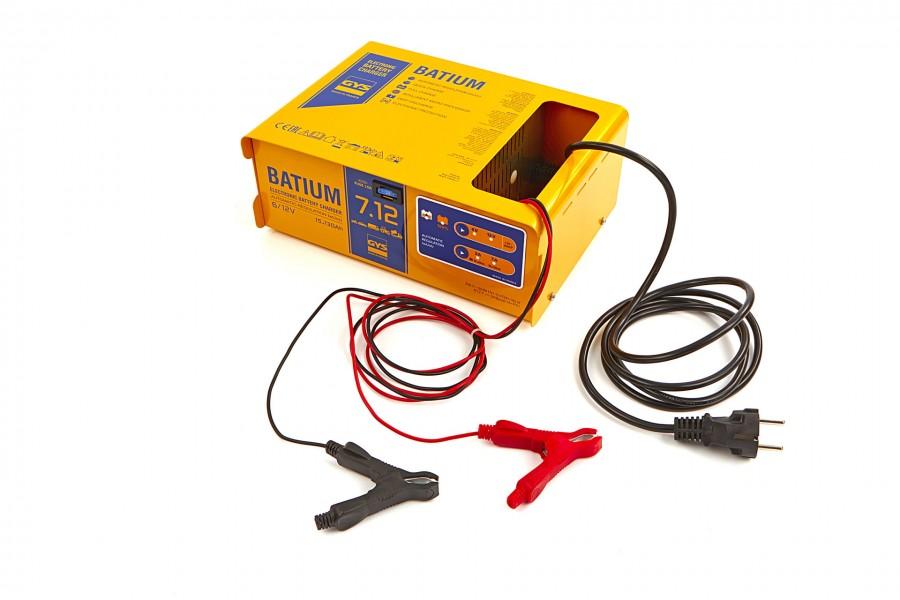 Gys Batium 7/12 Professionele Acculader, 230V, 6-12 V, 105 W