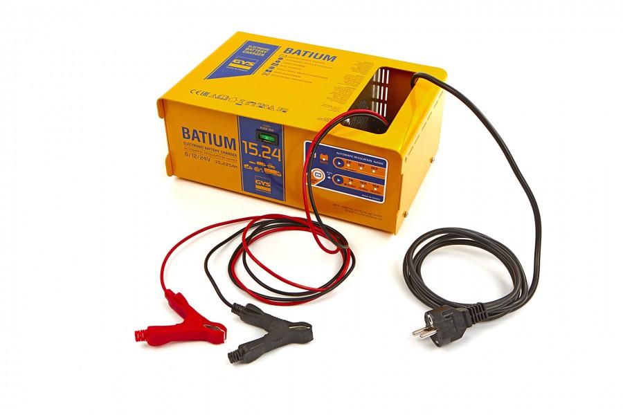 Gys Batium 15/24 Professionele Acculader, 230V, 6-12-24 V, 450 W