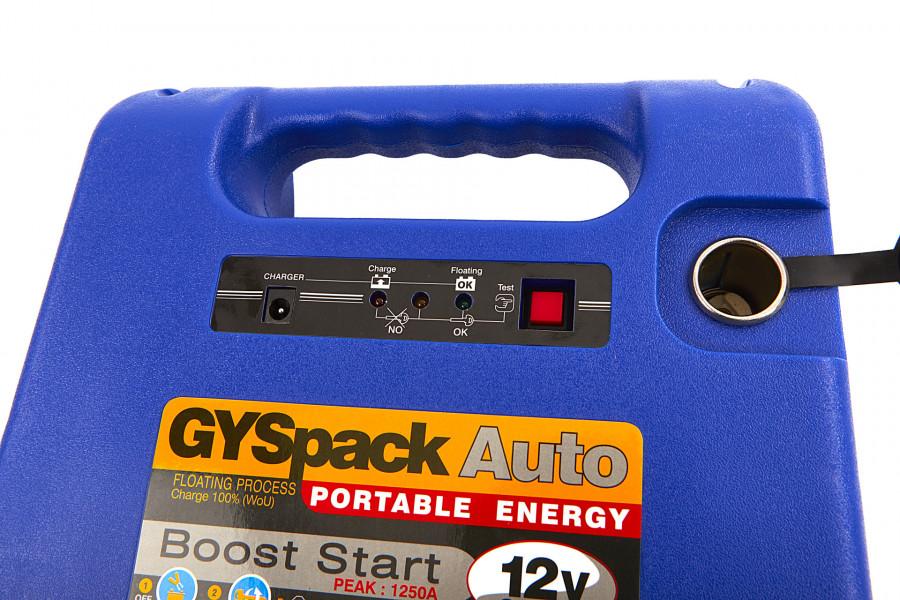 Gys Gyspack Auto startbooster, Jumpstarer Accu Booster, 230 V, 12 V, 18 Ah