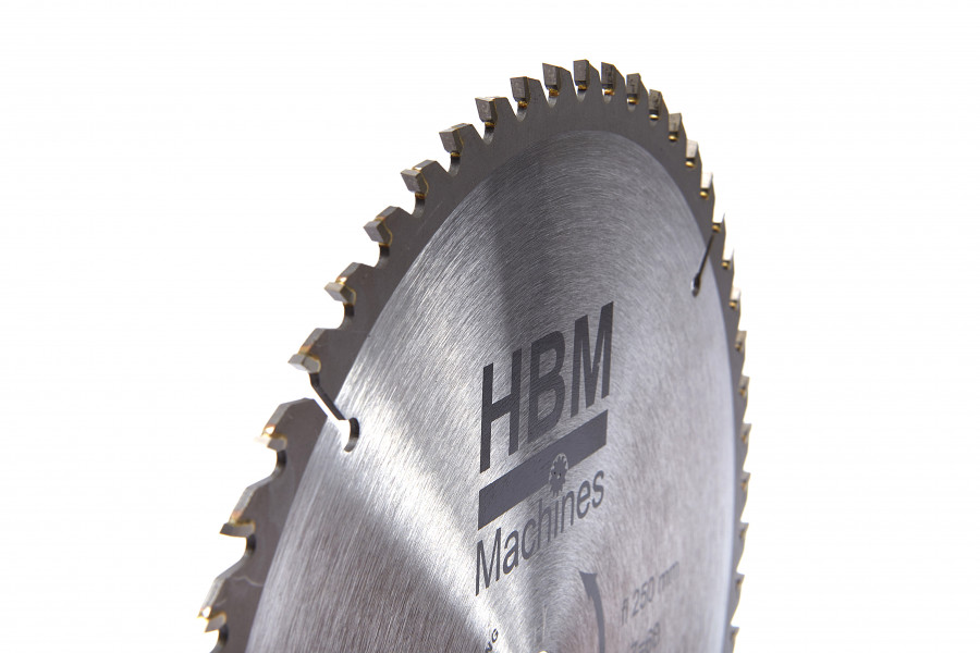 HBM HM Cirkelzaagbladen 250mm voor Hout