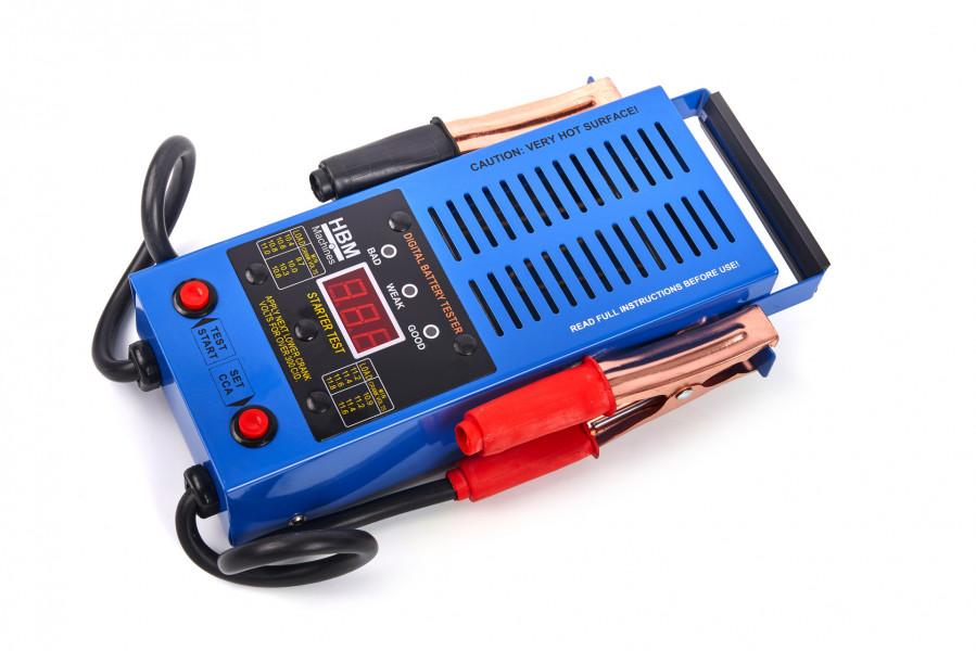 HBM 125 AMP Professionele Digitale Accu Tester - 12 Volt