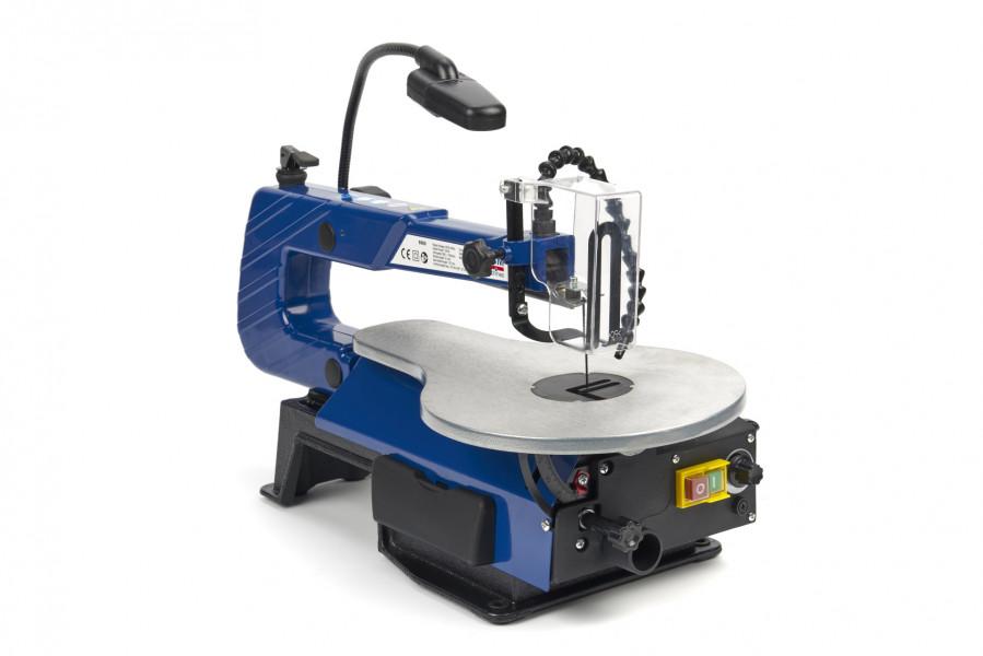 HBM Variabele Figuurzaagmachine Met Verlichting en Stofblaassysteem