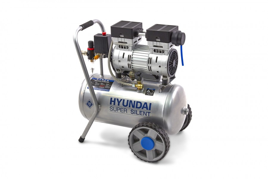 Hyundai 24 Liter Professionele Low Noise Compressor