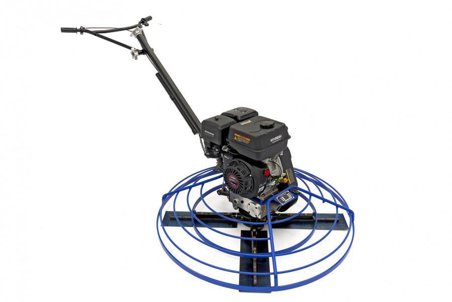 OCCASION - Hyundai 117 cm Professionele Vlindermachine / Troffelmachine 9 PK