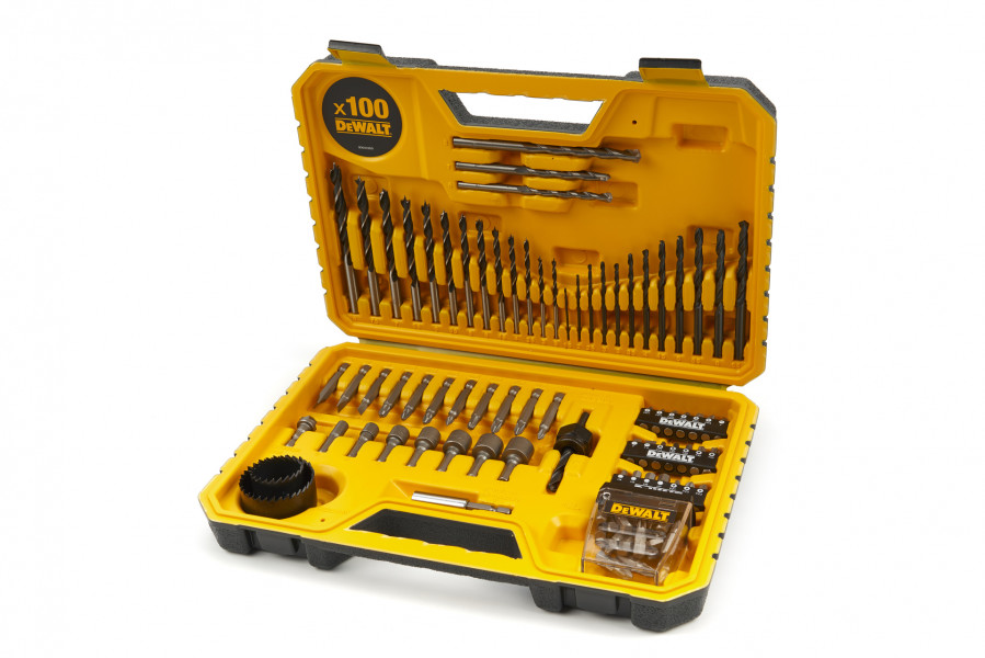 DeWalt DT71563 100 delige accessoire set in koffer - DT71563-QZ