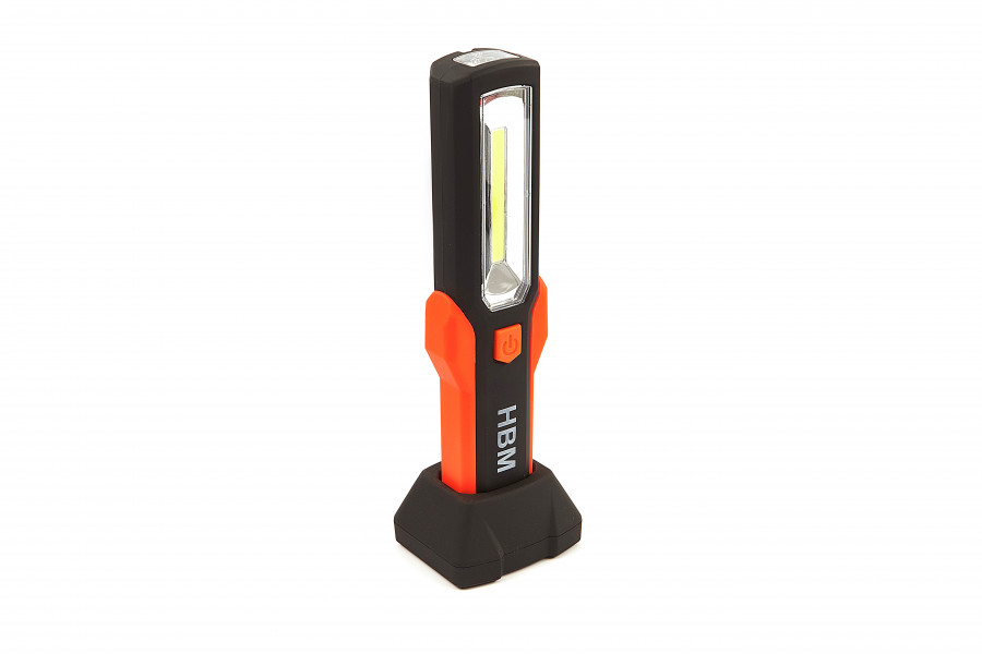 HBM Professionele Oplaadbare LED Zaklamp 280 Lumen Model 2